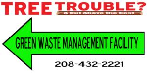 Tree Trouble Green Waste Facility Burley Idaho