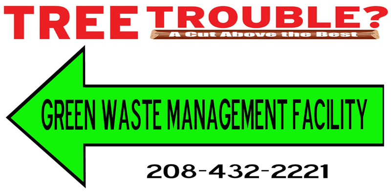 Tree Trouble Green Waste Facility Burley Idaho